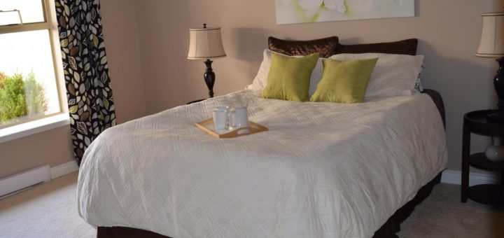 linges de lit en percale