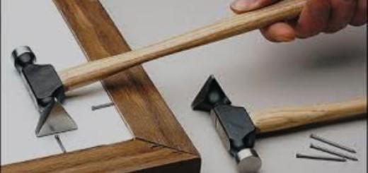 pose vitre chassis en bois