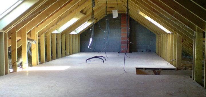 la toiture Combles aménagés