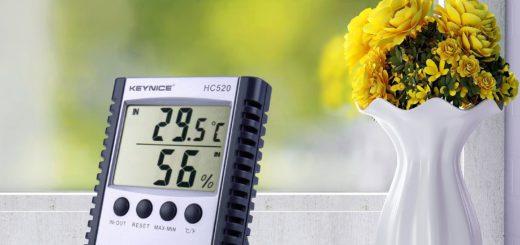 thermomètre d'intérieur