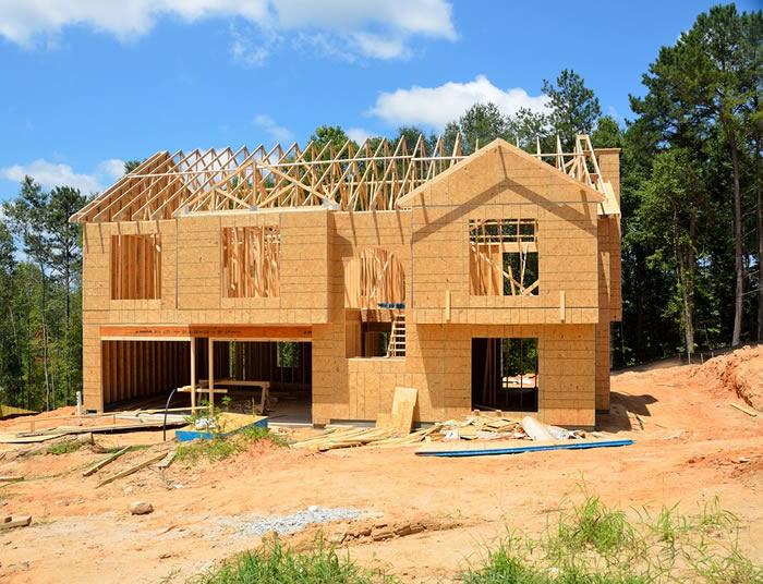 Maison en kit de bois