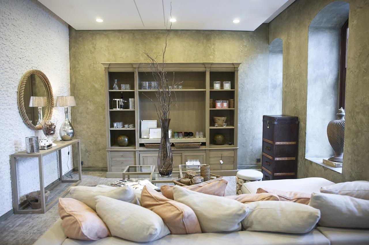 salle de séjour contemporaine
