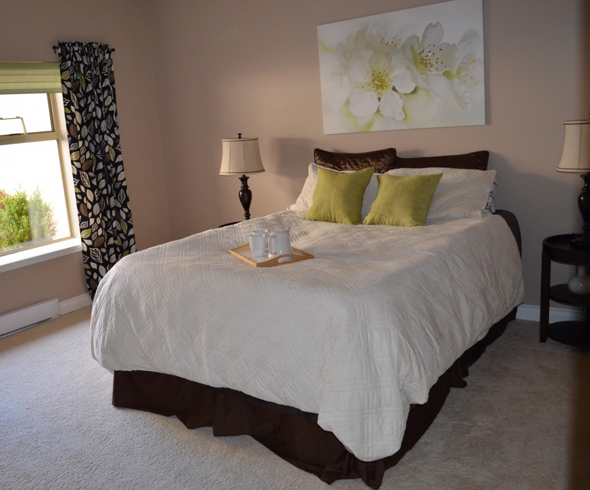 linges de lit en percale