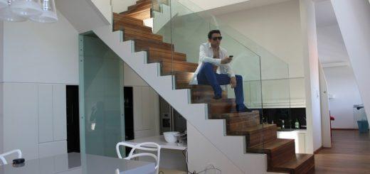 garde-corps verre escalier