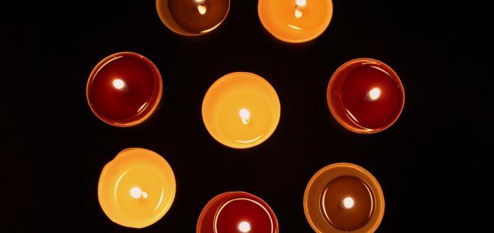 bougies aromatiques