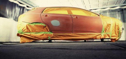 Peinture de voiture
